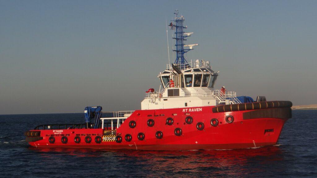 World's biggest ART 100-46 class Rotortug® named 'RT RAVEN'