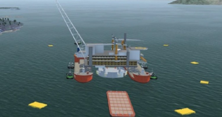 TOWMASTER DURING FLOATOVER FOR MATING AASTA HANSTEEN